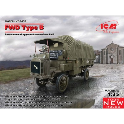 CAMION FWD Type B (US Army) -1/35- ICM 35655