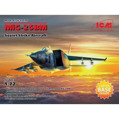 MIKOYAN GUREVICH MIG-25 BN -1/72- ICM 72175