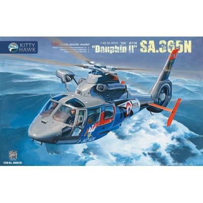 AEROSPATIALE AS-365 N DAUPHIN II -1/48- Kitty Hawk 80107