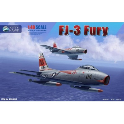 NORTH AMERICAN FJ-3 FURY -1/48- Kitty Hawk 80156