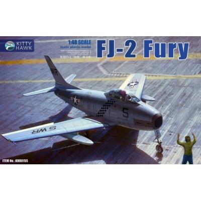 NORTH AMERICAN FJ-2 FURY -1/48- Kitty Hawk 80155