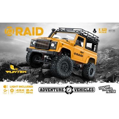 CRAWLER 1/12 RAID (Colores variados) - FUNTEK RAID 2