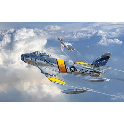 NORTH AMERICAN F-86 F SABRE -Escala 1/72- Italeri 1426