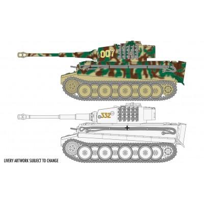 CARRO DE COMBATE Sd.Kfz. 181 Ausf. E TIGER I -1/72- Airfix A2342