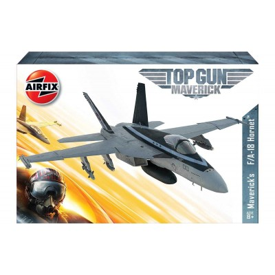 """Top Gun: McDONNELL DOUGLAS F/A- E HORNET """"MAVERICK"""" -1/72- Airfix A00504"""