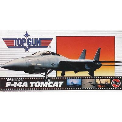 """Top Gun: GRUMMAN F-14 A TOMCAT """"Maverick"""" -1/72- Airfix A00503"""