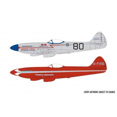 "SUPERMARINE SPITFIRE MK-XIV ""Race Scheme"" -1/48- Airfix A05139"