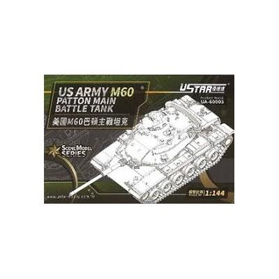 CARRO DE COMBATE M-60 -1/144- USTAR-HOBBY UA60003