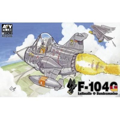 LOCKHEED F-104 G STARFIGHTER -TOONS- AFV AFQS06