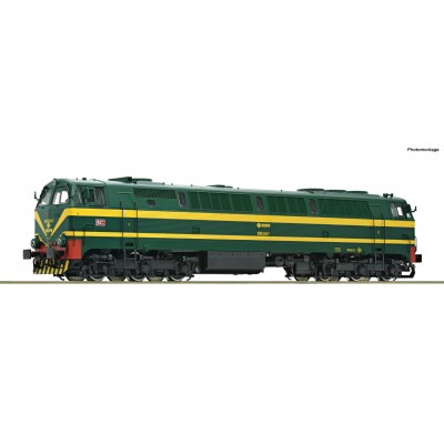 LOCOMOTORA DIESEL Serie 333 RENFE- H0 - 1/87- (Digital / Sonido) - Roco 73703