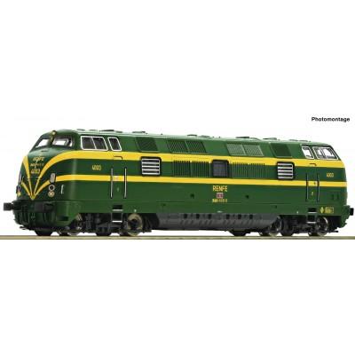 LOCOMOTORA DIESEL Serie 340 RENFE -N - 1/160- Fleischmann 725010