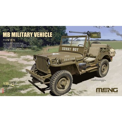 JEEP WILLYS -1/35- Meng Model VS-011
