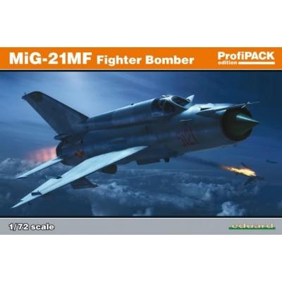 MIKOYAN GUREVICH MIG-21 MF FISHBED -Escala 1/72- Eduard 70142