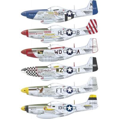 NORTH AMERICAN P-51 D MUSTANG -1/48- Eduard 82102