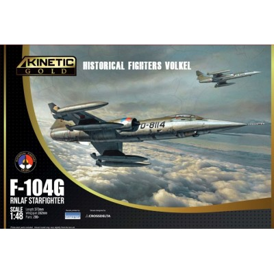 LOCKHEED F-104 G STARFIGHTER (HOLANDA) -1/48- Kinetic K48090
