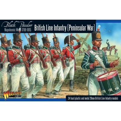 INFANTERIA DE LINEA BRITANICA (Guerra Peninsular) -1/56- Warlord Games BR01