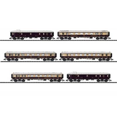 SET COCHES EXPRESO RHEINGOLD (6 Unidades) -N - 1/160- TRIX 15539
