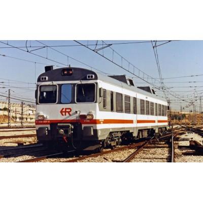 AUTOMOTOR DIESEL 9-596-007-7 REGIONALES R1 RENFE -H0 - 1/87- Electrotren HE2500A