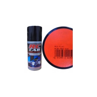SPRAY ROJO RUBY FLUO (150 ml) PARA CARROCERIAS DE POLICARBONATO