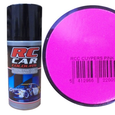 SPRAY CUYPERS PINK LEXAN (150 ml) - RC CAR COLOURS 1009