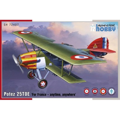 POTEZ 25 TOE (Francia) -1/72- Special Hobby SH72407
