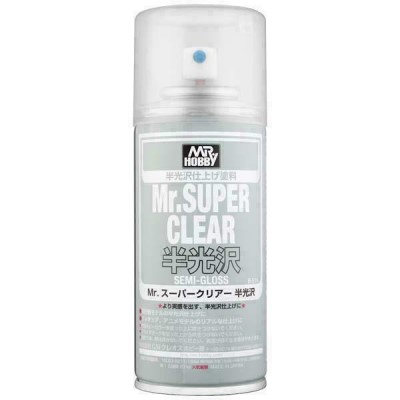 SPRAY BARNIZ SATINADO SUPER CLEAR 170ml - GUNZE B516-7000