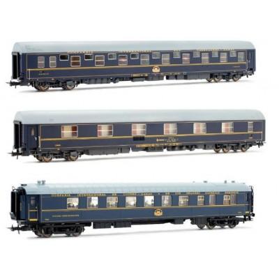 SET COCHES VIAJEROS CIWL RENFE Ep. IV -H0 - 1/87- Electrotren E18038