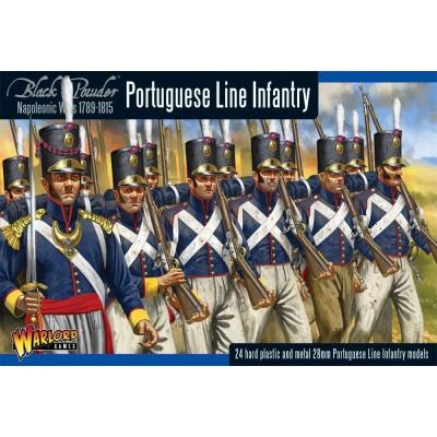 INFANTERIA DE LINEA PORTUGUESA -1/56- Warlord Games PO-01