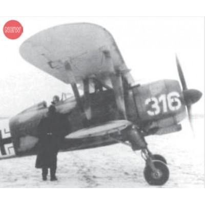 FIAT Cr. 42 FALCO & TRIPULANTES LUFTWAFFE -1/32- ICM 32022