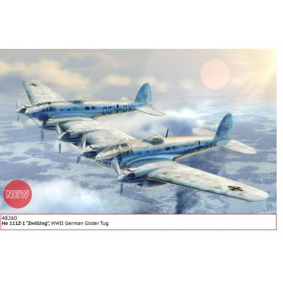 HEINKEL He-111 Z ZWILLING -1/48- ICM 48260
