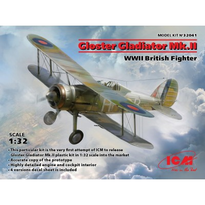 GLOSTER GLADIATOR MK-II -1/32- ICM 32041
