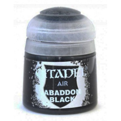 PINTURA ACRILICA AIR: ABADDON BLACK (12 ml) - Games Worshop 28-15