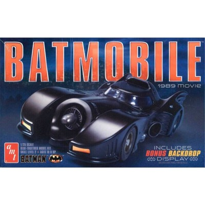 BATMOBILE (PELICULA 1989) - ESCALA 1/25 - AMT 935/12
