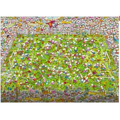 PUZZLE 1000 PZS MORDILLO THE MATCH - CLEMENTONI 39537