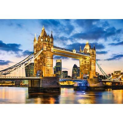 PUZZLE 2000 pzs PUENTE DE LA TORRE, LONDRES (975 x 668 mm) - Clementoni 32563