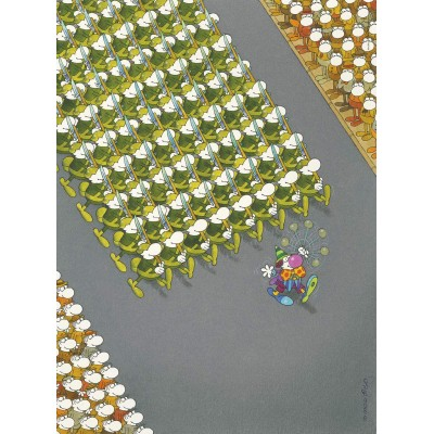 PUZZLE 500 pzs THE MARCH, MORDILLO (360 x 490 mm) - Clementoni 35078