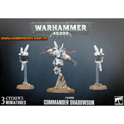 TAU EMPIRE COMMANDER SHADOWSUN - GAMES WORKSHOP 56-29