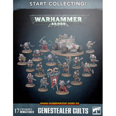 GENESTEALER CULTS START COLLECTING - GAMES WORKSHOP 70-60
