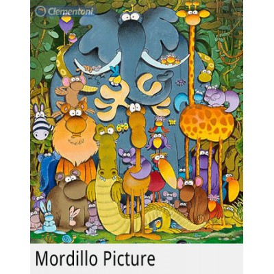 PUZZLE 180 pzs THE PICTURE, Mordillo - Clementoni 29204
