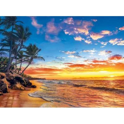 PUZZLE 500 pzs PARADISE BEACH (490 x 360 mm) - Clementoni 35058