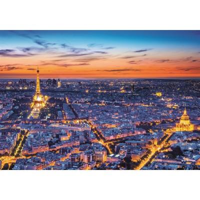 PUZZLE 1500 pzs PARIS VIEW - Clementoni 31815