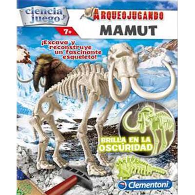 Arqueojugando: MAMUT FLUOR - Clementoni 55027