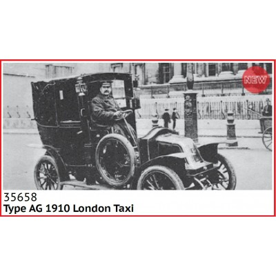TAXI Type AG 1910 (Londres) -1/35- ICM 35658