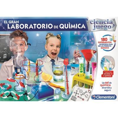 Ciencia y Juego: EL GRAN LABORATORIO DE QUIMICA - Clementoni 55323