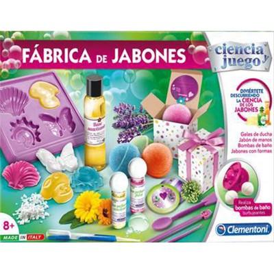 Ciencia y Juego: FABRICA DE JABONES - Clementoni 55205