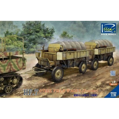 CARRO METALICO DE CAMPAÑA ALEMAN HF.7 -1/35- Riich Model RV35041