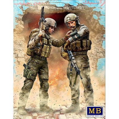 Modern War Series: OUR ROUTE HAS BEEN CHANGED!! -1/24- Master Box 24068