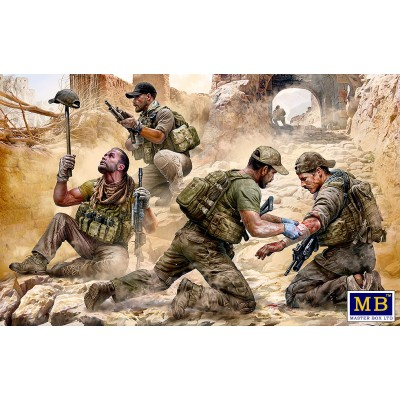 "Modern War Series: ""Danger Close"". Special Operations Team -1/35- Marster Box 35207"