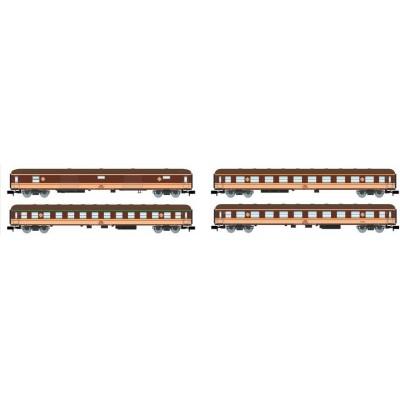 SET COCHES VIAJEROS Tipo 8100 (Estrella) RENFE Ep. IV -N - 1/160- Arnold HN4296