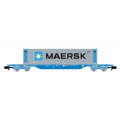 "VAGON PORTA CONTENEDORES MMC ""MAERSK"" Ep. V - N-1/160 - Arnold HN6441"